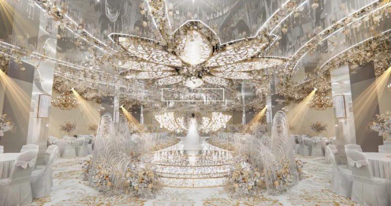 婚礼堂发布:婚庆+酒店,打造3大百万婚礼堂  第1张