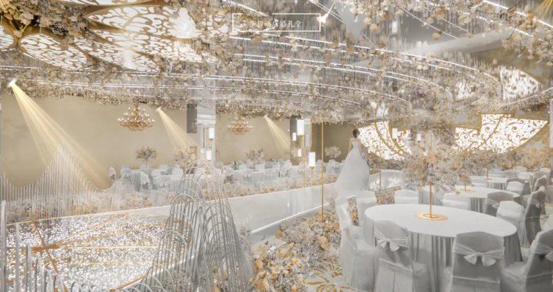 婚礼堂发布:婚庆+酒店,打造3大百万婚礼堂  第2张