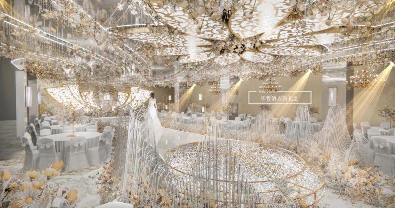 婚礼堂发布:婚庆+酒店,打造3大百万婚礼堂  第3张