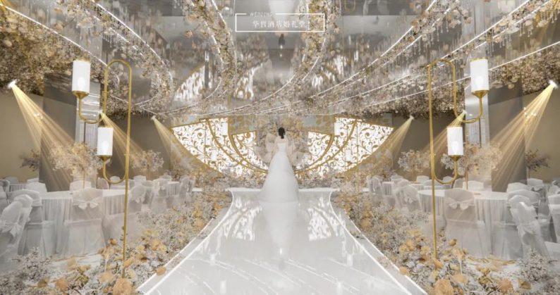 婚礼堂发布:婚庆+酒店,打造3大百万婚礼堂  第4张