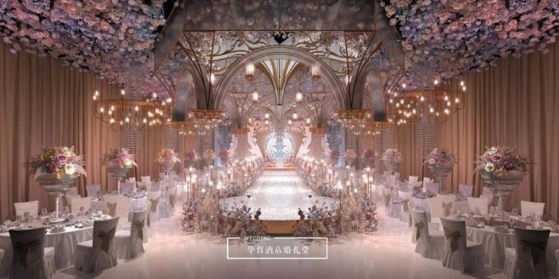 婚礼堂发布:婚庆+酒店,打造3大百万婚礼堂  第9张