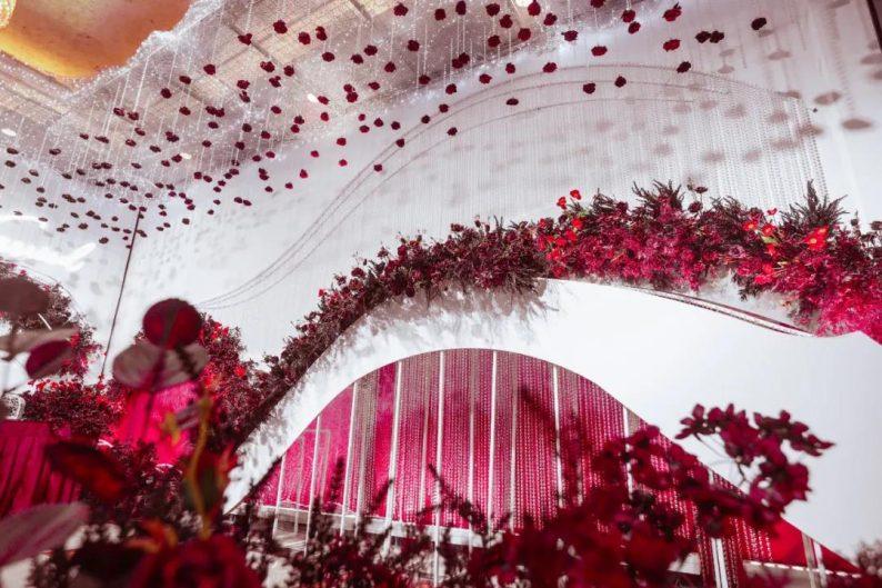 婚礼堂发布:6大主题厅!芭菲婚礼九滨婚礼会馆设计解读  第5张
