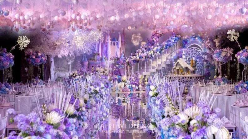 婚礼堂发布:6大主题厅!芭菲婚礼九滨婚礼会馆设计解读  第7张