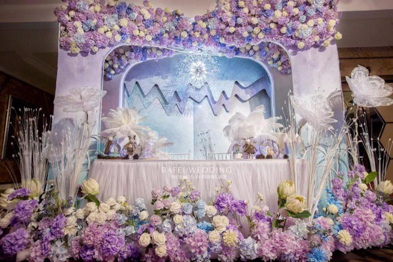 婚礼堂发布:6大主题厅!芭菲婚礼九滨婚礼会馆设计解读  第11张
