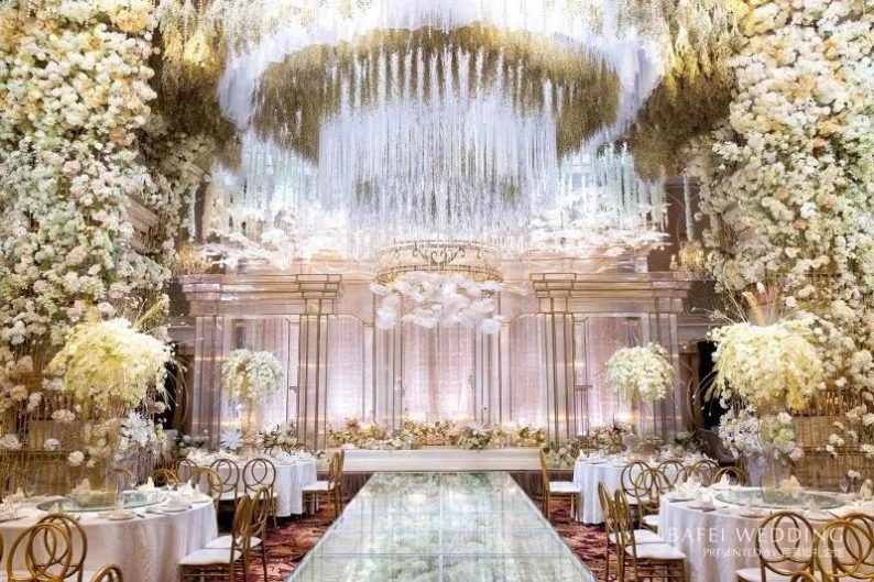 婚礼堂发布:6大主题厅!芭菲婚礼九滨婚礼会馆设计解读  第14张