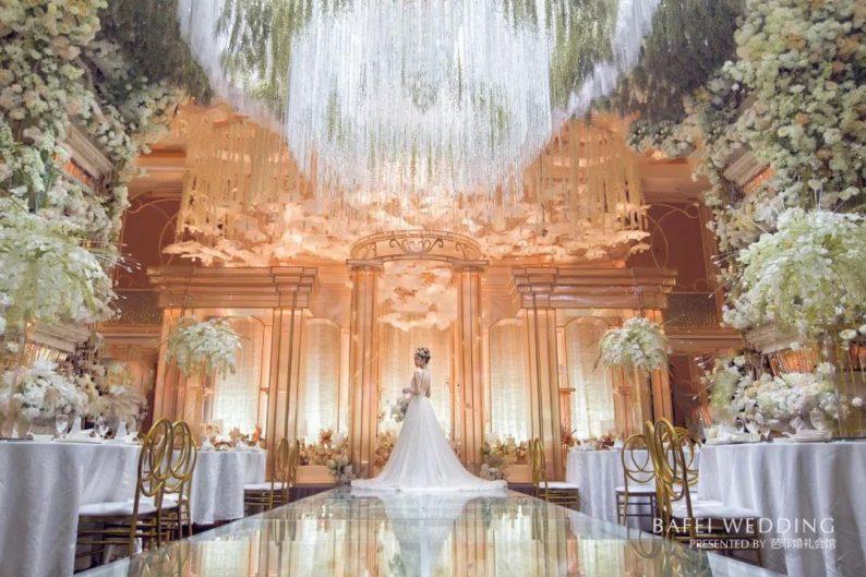 婚礼堂发布:6大主题厅!芭菲婚礼九滨婚礼会馆设计解读  第15张