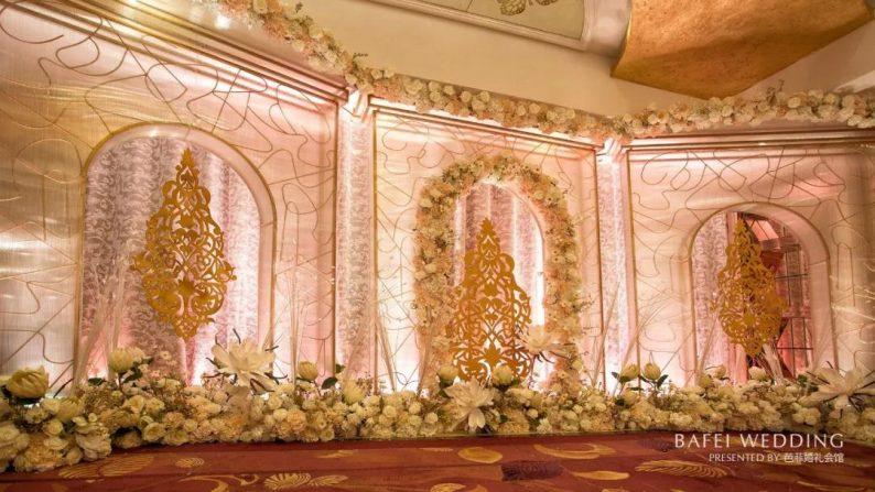 婚礼堂发布:6大主题厅!芭菲婚礼九滨婚礼会馆设计解读  第19张