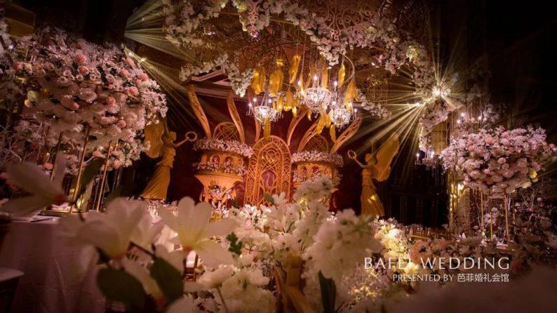 婚礼堂发布:6大主题厅!芭菲婚礼九滨婚礼会馆设计解读  第25张