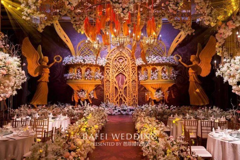 婚礼堂发布:6大主题厅!芭菲婚礼九滨婚礼会馆设计解读  第26张