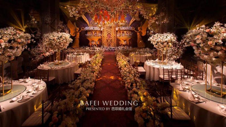 婚礼堂发布:6大主题厅!芭菲婚礼九滨婚礼会馆设计解读  第27张