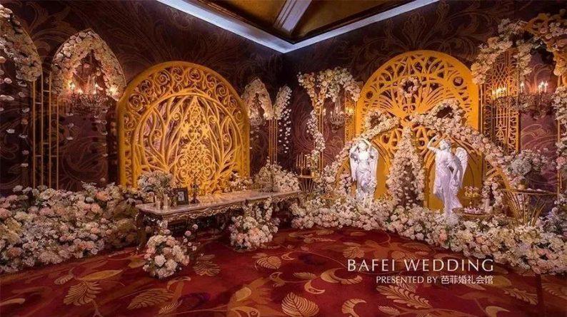 婚礼堂发布:6大主题厅!芭菲婚礼九滨婚礼会馆设计解读  第29张
