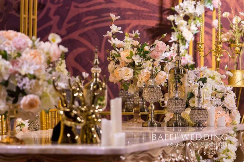 婚礼堂发布:6大主题厅!芭菲婚礼九滨婚礼会馆设计解读  第30张