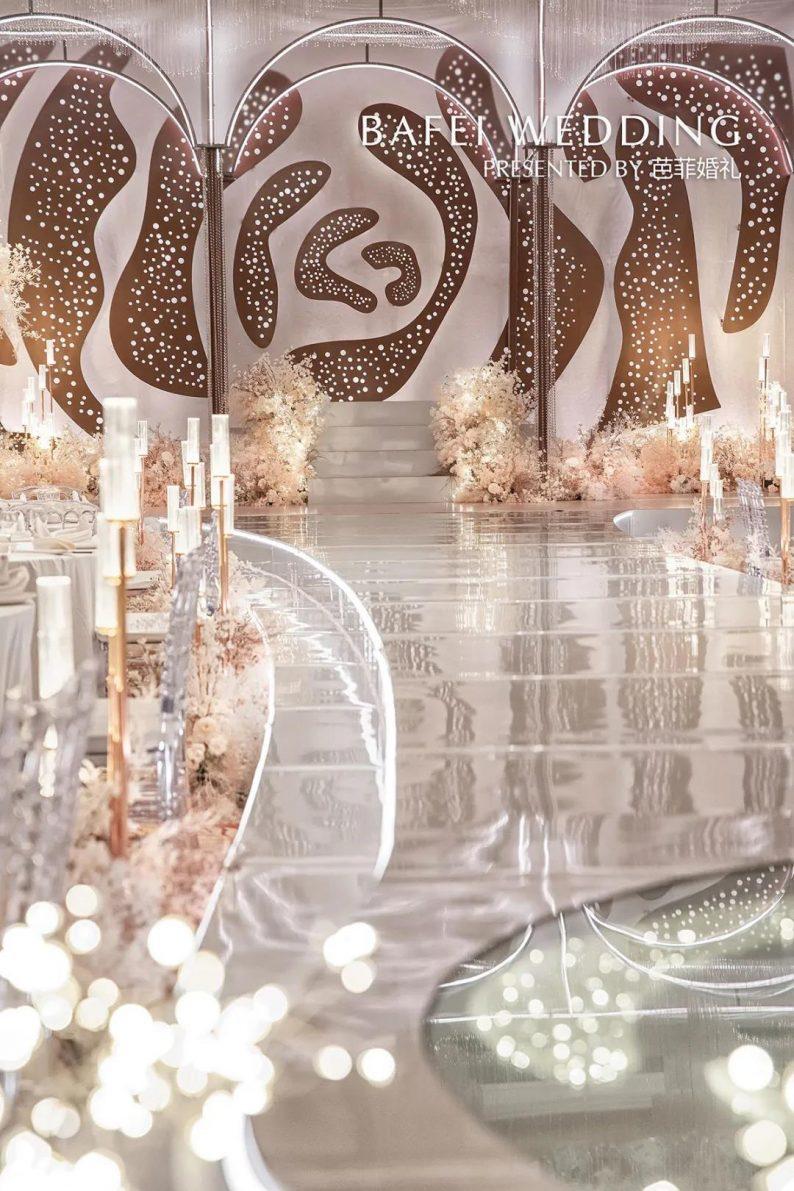 婚礼堂发布:6大主题厅!芭菲婚礼九滨婚礼会馆设计解读  第32张