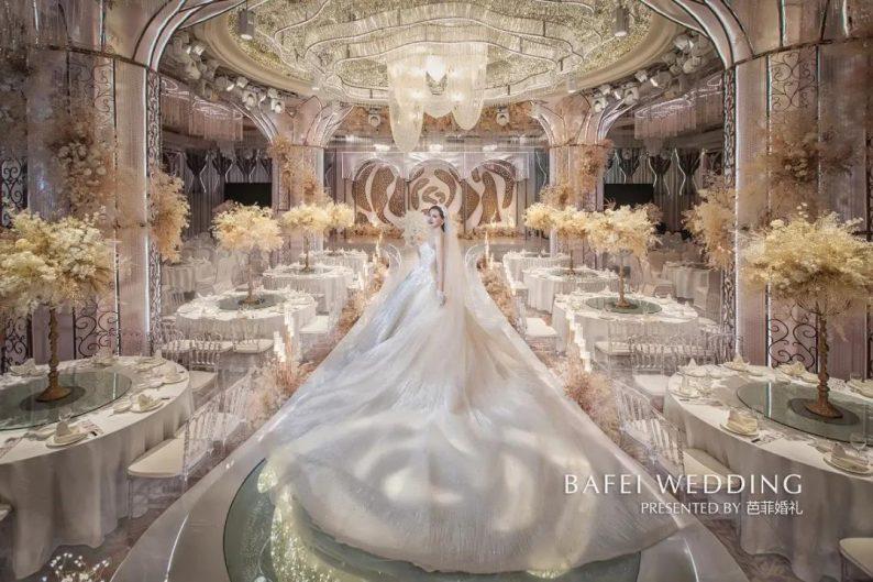 婚礼堂发布:6大主题厅!芭菲婚礼九滨婚礼会馆设计解读  第33张