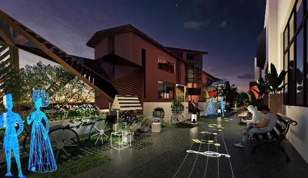 婚礼堂发布:上海得丘婚礼会馆空间改造计划  第8张