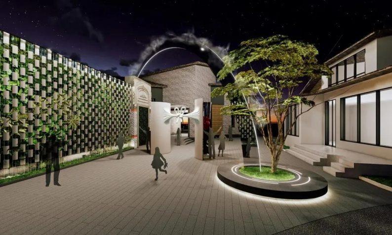 婚礼堂发布:上海得丘婚礼会馆空间改造计划  第10张