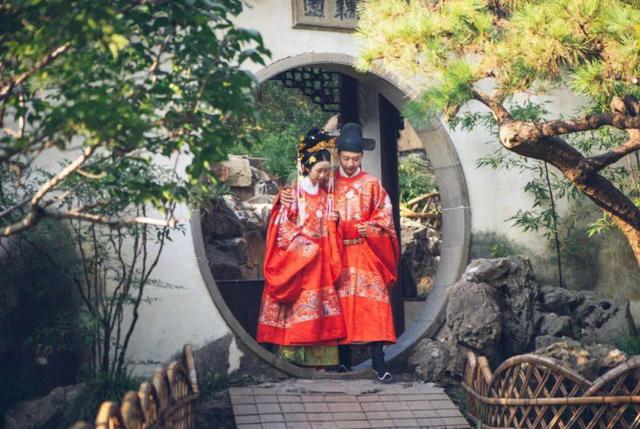 苏州一古典园林,推出园林婚礼特别服务  第1张