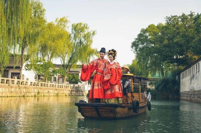 苏州一古典园林,推出园林婚礼特别服务  第3张