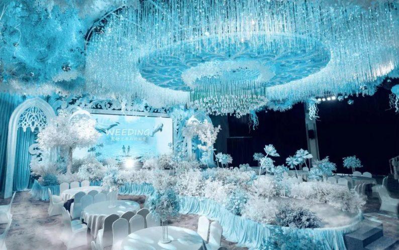 婚礼堂发布:7000平方!5大宴会厅!锦禾盛宴一站式宴会酒店  第8张