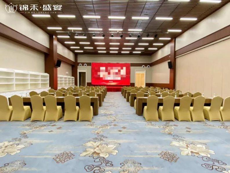 婚礼堂发布:7000平方!5大宴会厅!锦禾盛宴一站式宴会酒店  第9张