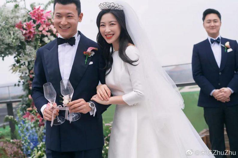 演员朱珠婚礼现场图曝光  第2张