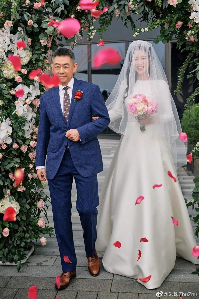 演员朱珠婚礼现场图曝光  第3张