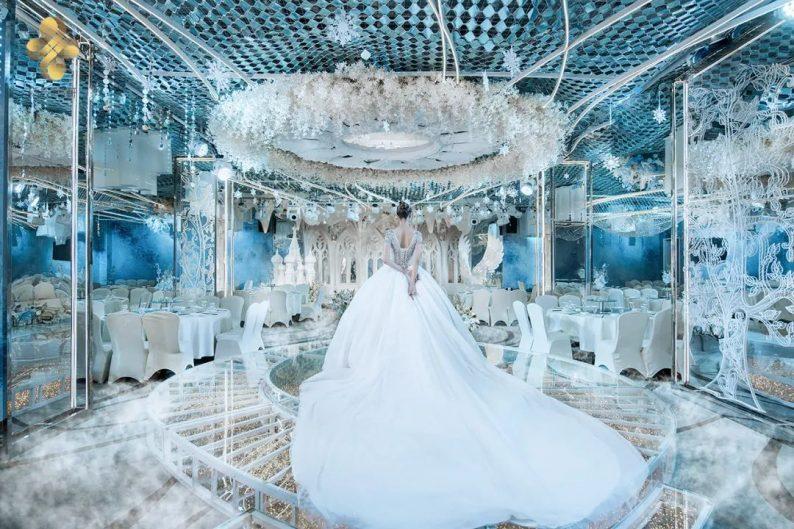 婚礼堂发布:5大百万级宴会厅!艳阳景轩关山店全新升级  第4张