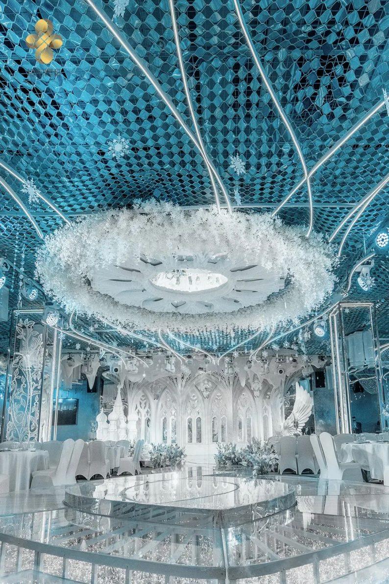 婚礼堂发布:5大百万级宴会厅!艳阳景轩关山店全新升级  第5张