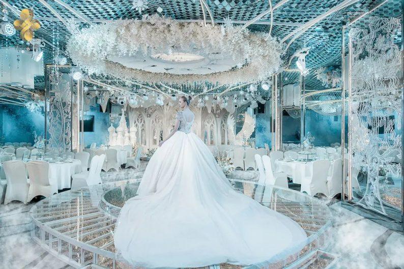 婚礼堂发布:5大百万级宴会厅!艳阳景轩关山店全新升级  第6张