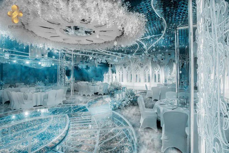 婚礼堂发布:5大百万级宴会厅!艳阳景轩关山店全新升级  第8张