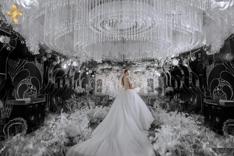 婚礼堂发布:5大百万级宴会厅!艳阳景轩关山店全新升级  第16张