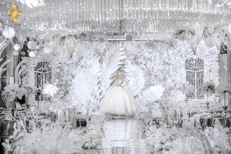 婚礼堂发布:5大百万级宴会厅!艳阳景轩关山店全新升级  第20张