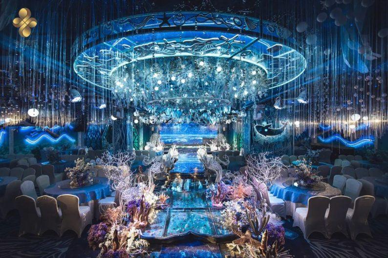 婚礼堂发布:5大百万级宴会厅!艳阳景轩关山店全新升级  第30张