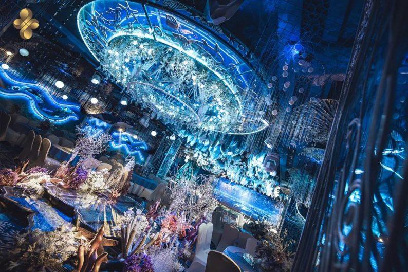 婚礼堂发布:5大百万级宴会厅!艳阳景轩关山店全新升级  第31张