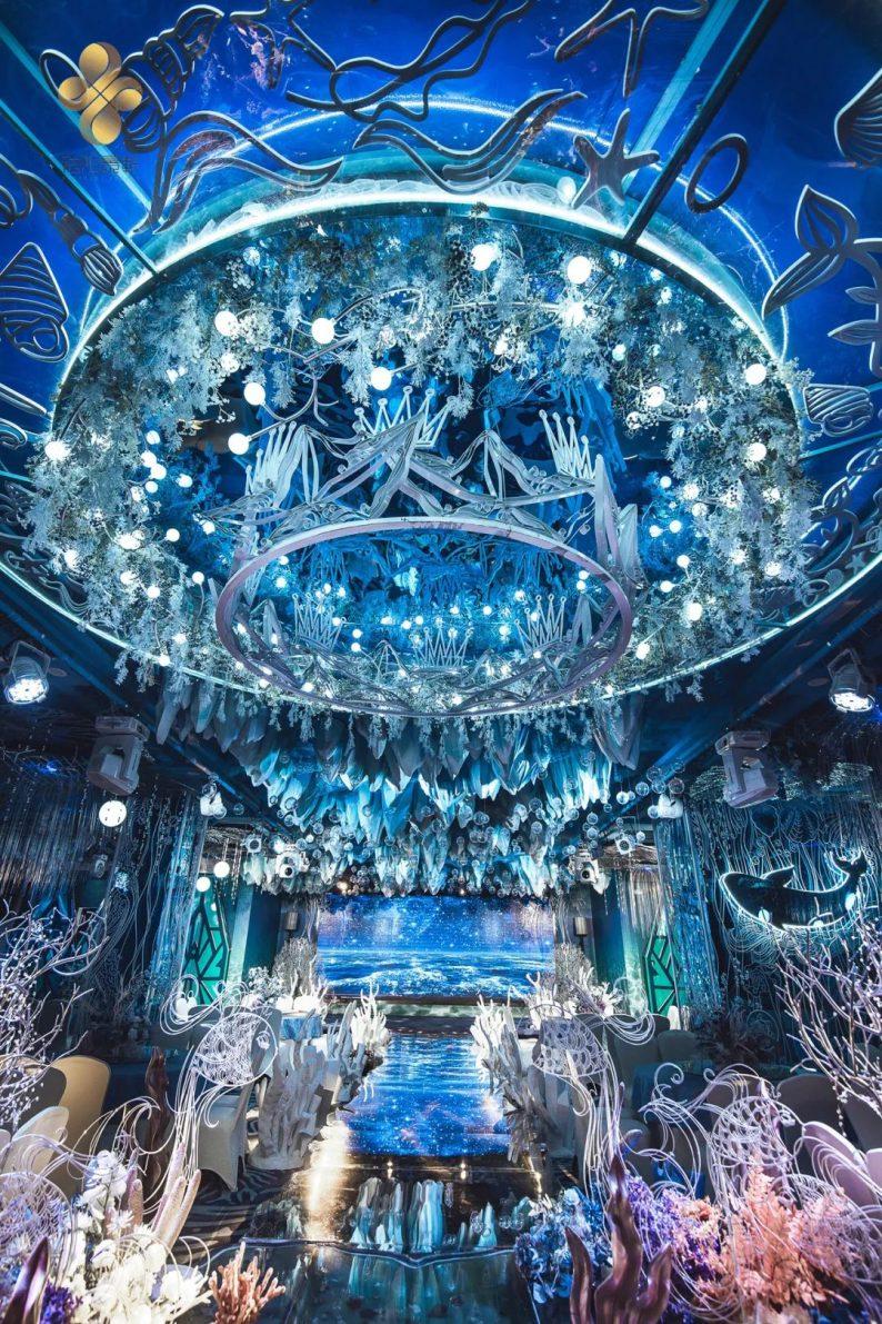 婚礼堂发布:5大百万级宴会厅!艳阳景轩关山店全新升级  第34张