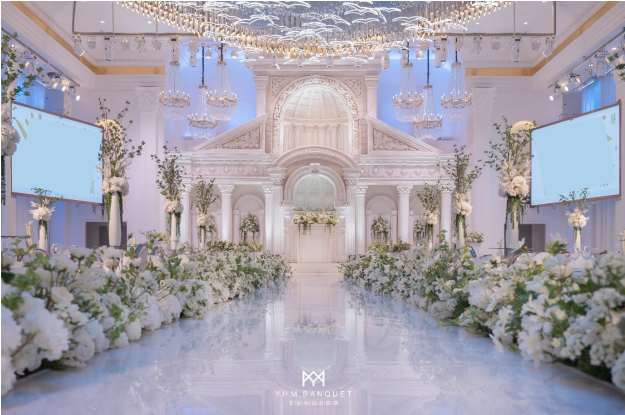 婚礼堂发布:4000平、3大主题厅!秀海宴会艺术中心即将亮相  第3张
