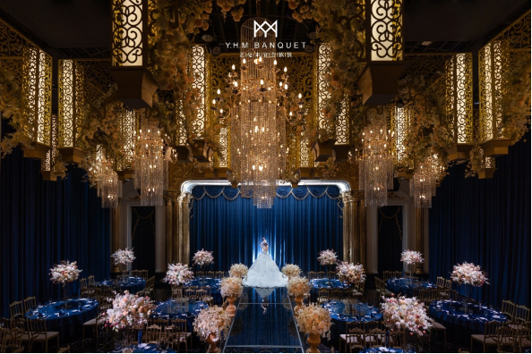 婚礼堂发布:4000平、3大主题厅!秀海宴会艺术中心即将亮相  第7张