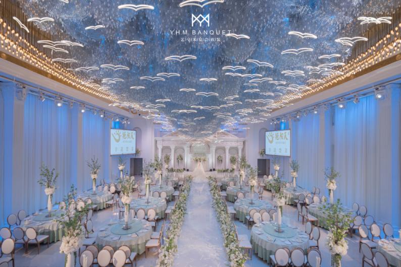 婚礼堂发布:4000平、3大主题厅!秀海宴会艺术中心即将亮相  第9张