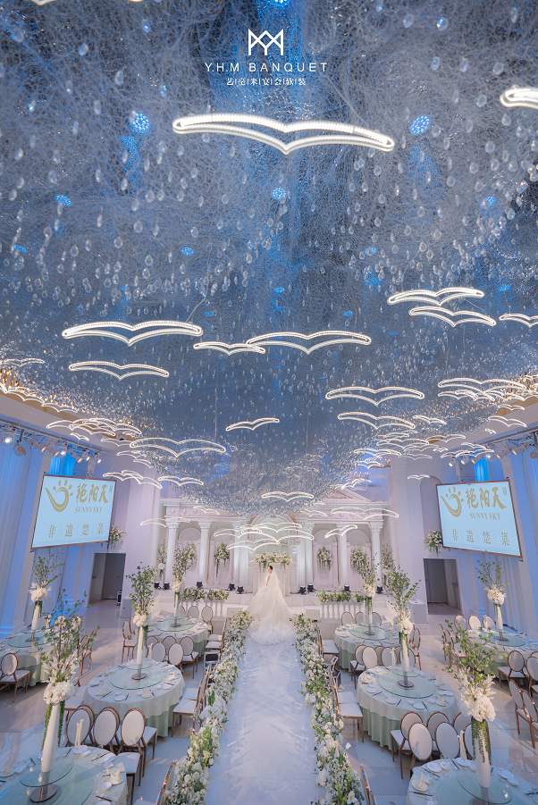 婚礼堂发布:4000平、3大主题厅!秀海宴会艺术中心即将亮相  第10张