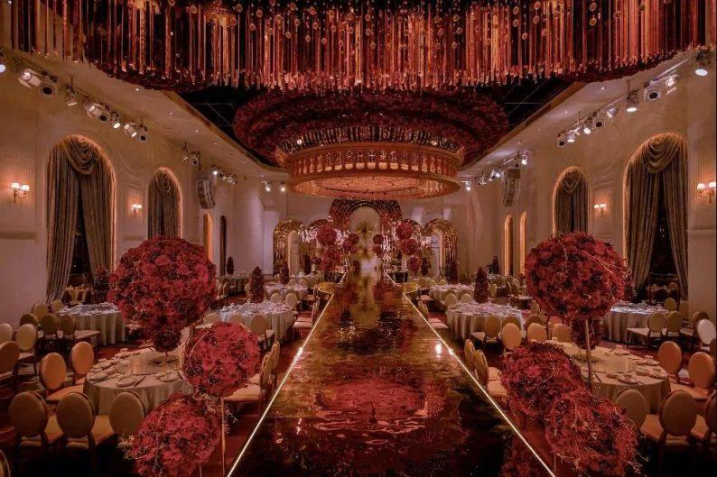 婚礼堂发布:4大宴会厅!江苏四线城市婚礼主题宴会酒店  第11张