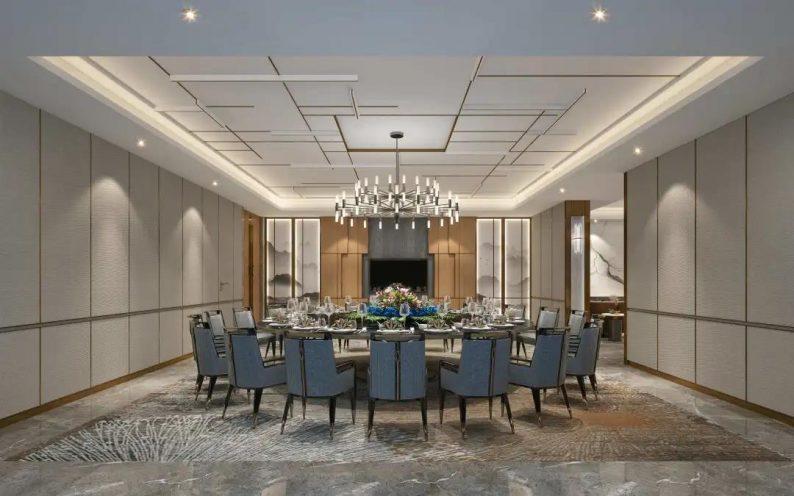 婚礼堂发布:2020平米!眉山希尔顿花园酒店配套宴会中心  第7张
