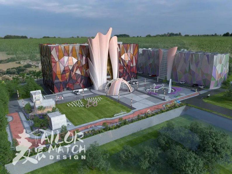 婚礼堂发布:2.5万方、5大宴会厅!重庆永固·两江宴会中心设计解读  第1张
