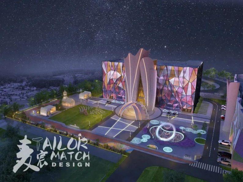 婚礼堂发布:2.5万方、5大宴会厅!重庆永固·两江宴会中心设计解读  第2张