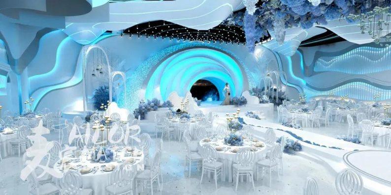 婚礼堂发布:2.5万方、5大宴会厅!重庆永固·两江宴会中心设计解读  第4张