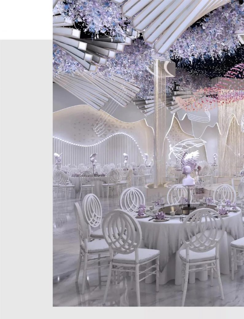 婚礼堂发布:2.5万方、5大宴会厅!重庆永固·两江宴会中心设计解读  第6张