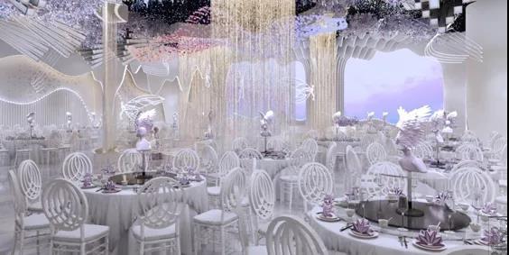 婚礼堂发布:2.5万方、5大宴会厅!重庆永固·两江宴会中心设计解读  第8张