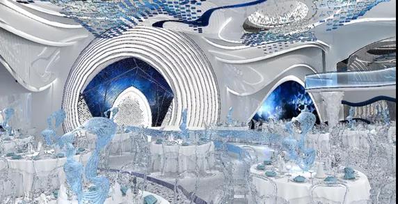 婚礼堂发布:2.5万方、5大宴会厅!重庆永固·两江宴会中心设计解读  第11张