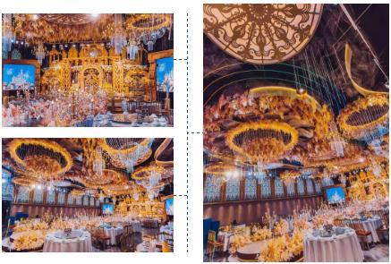 婚礼堂发布:5大宴会厅,3600平米!西北地区一站式婚宴酒店  第8张