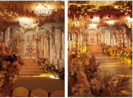 婚礼堂发布:6大宴会厅!临淄硕冠酒店全新升级  第10张