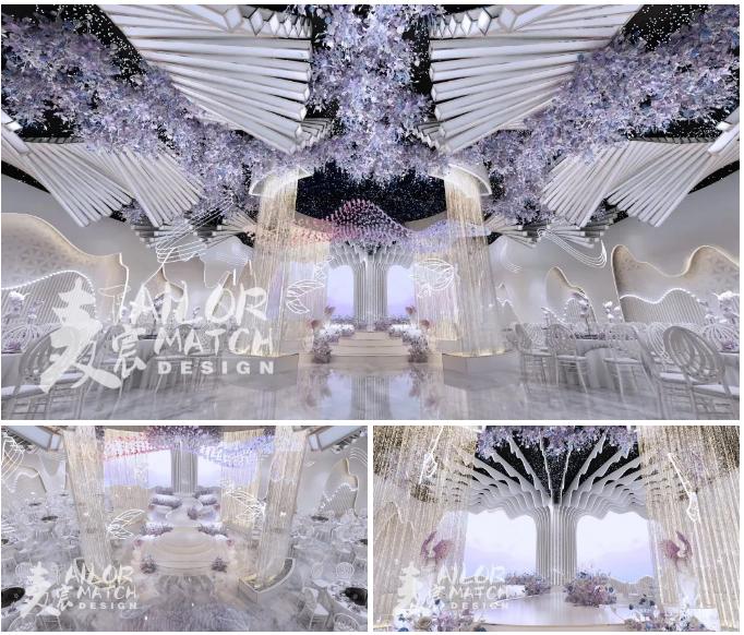 婚礼堂发布:2.5万方、5大宴会厅!重庆永固·两江宴会中心设计解读  第7张